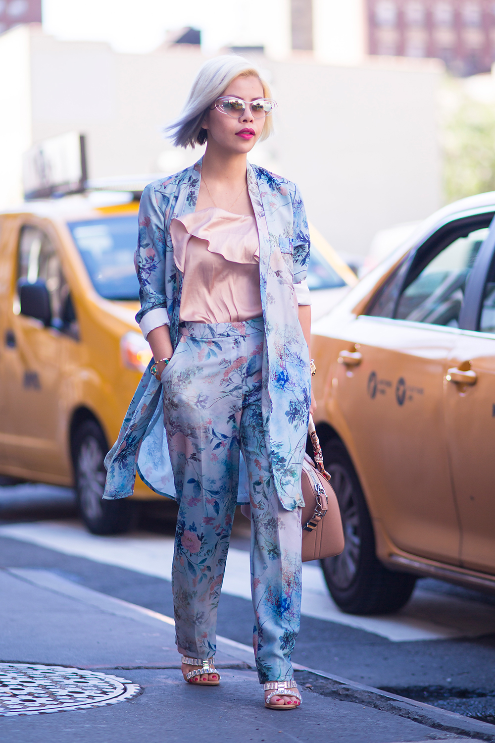 Crystal Phuong- New York Fashion Week Day 5 street style blogger