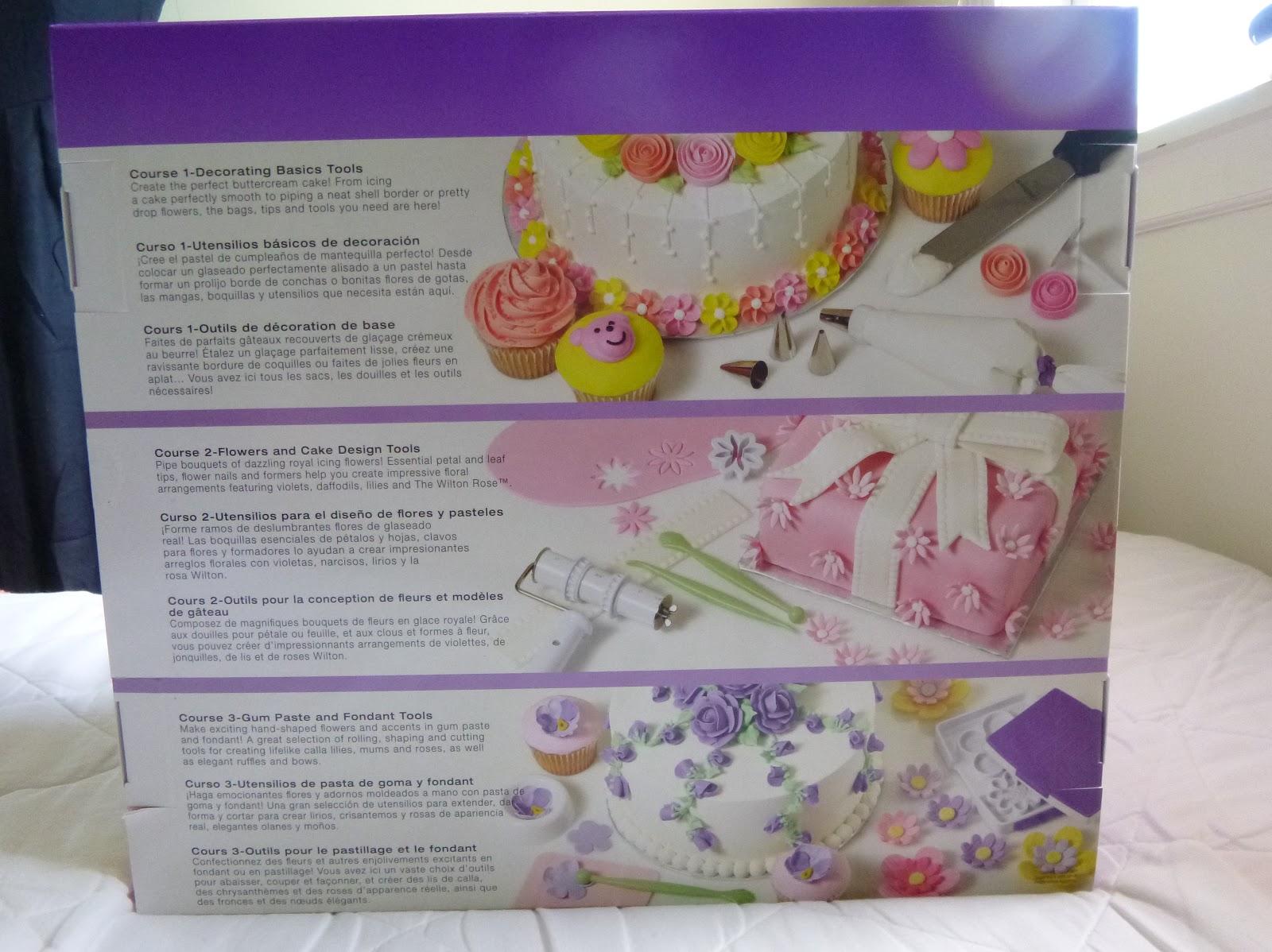 Wilton Ultimate Cake Decorating Kit Michaels : Wilton Ultimate Professional Cake Decorating Set, Purple ...