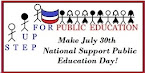 Make July 30th Support Public Education Day