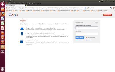 Login Google Wallet, cuenta Google Wallet