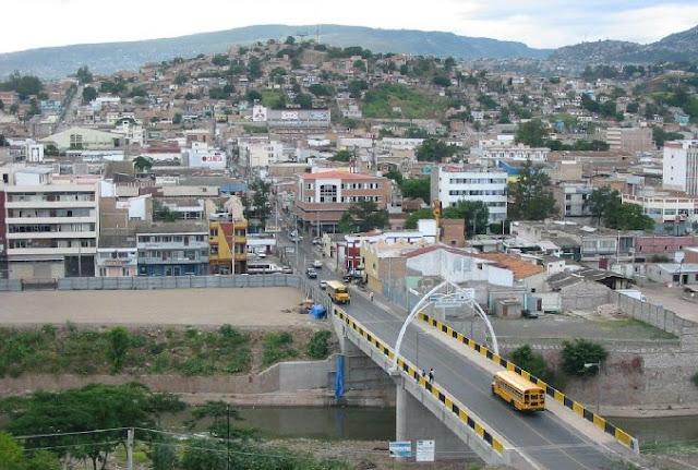 Tegucigalpa, kryeqyteti i Hondurasit
