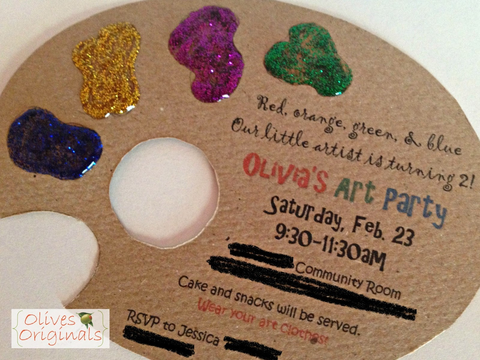 Art Party Invitations The Best Invitation In 2017 – Art Party Invites
