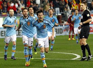 Convocados de España para la Eurocopa 2012