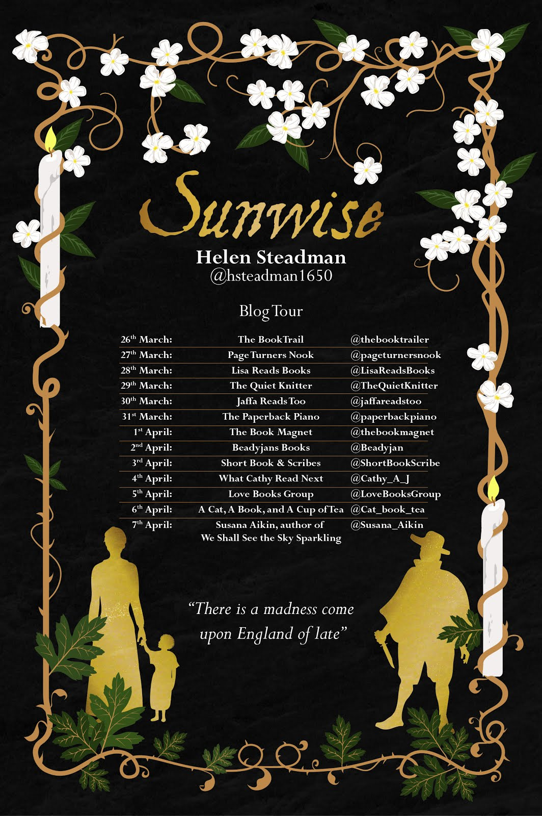 Sunwise Blog Tour