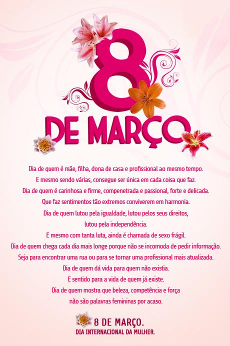 Facebook Imagens Frases E Poemas Dia Da Mulher