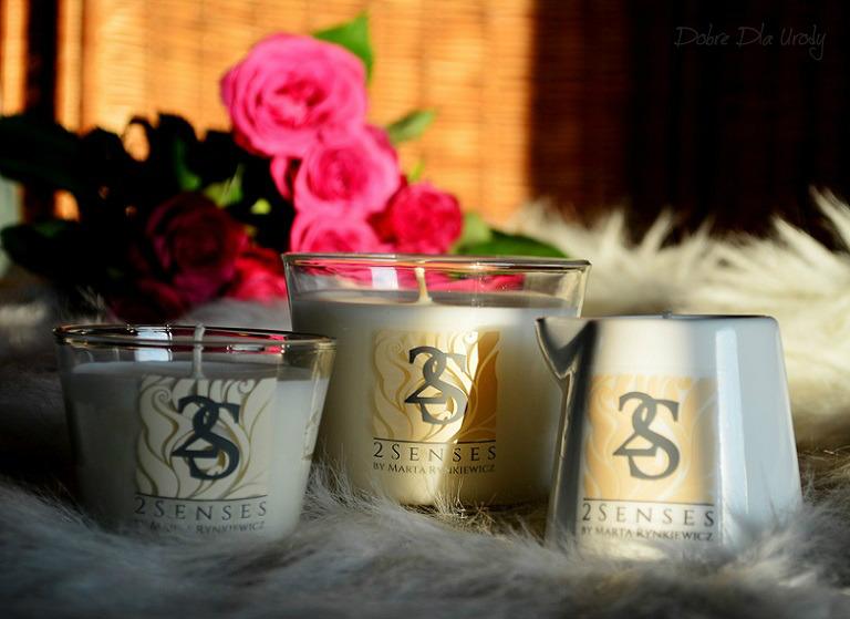 Naturalne świece do masażu 2 Senses