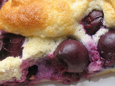 Baked Blue Grape Pancakes