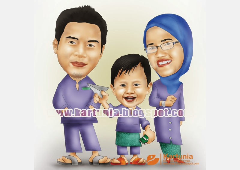 karikatur keluarga sakinah