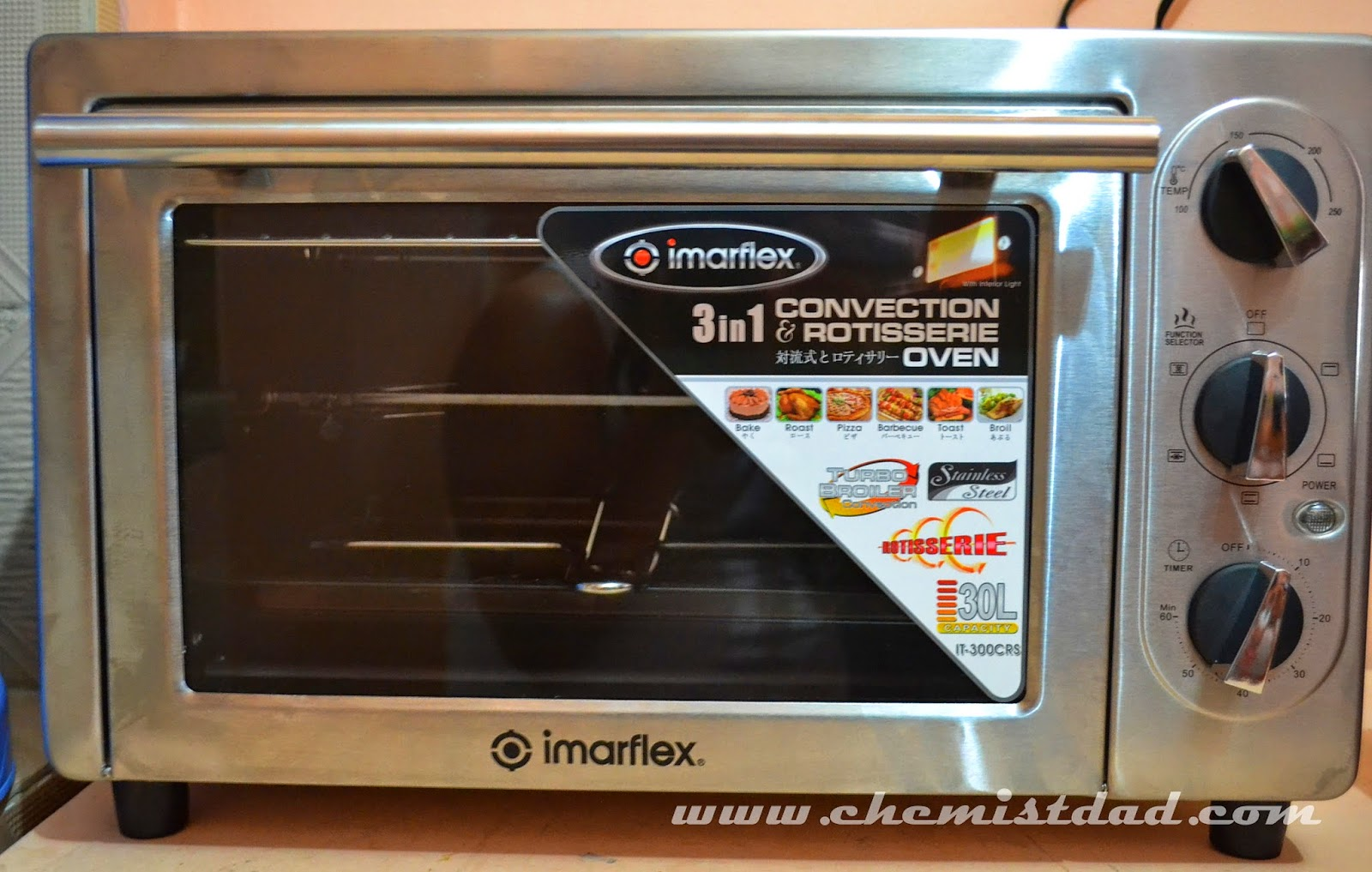 Imarflex 3 In 1 Convection And Rotisserie Oven Review