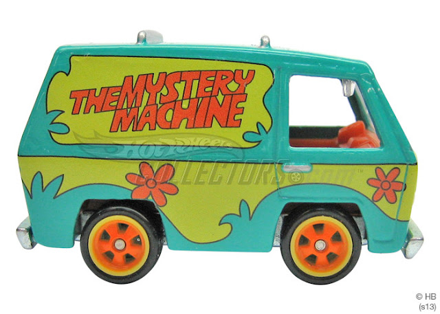 Hot Whells Mystery Machine