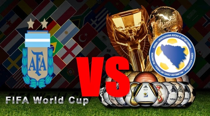 Prediksi Skor PIALA DUNIA 2014 Terjitu Argentina vs Bosnia jadwal 16 Juni 2014