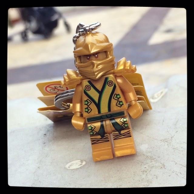 LEGO Gold Ninja