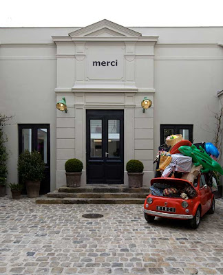 World at Large: Merci Pop Up Store in Tokyo