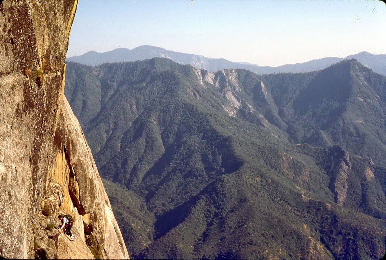 West Face .. Moro Rock ..  SNP