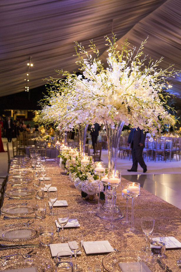 Also Keep In Mind, Long Tables Require Enough Centerpieces To Make Sure  They Do Not Look Empty When Compared To Your Round Tables.