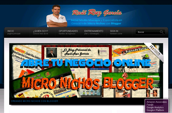 Crea tu micronicho en la plataforma de blogger