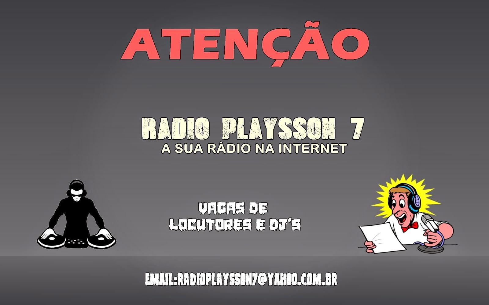 VAGAS DE DJ E LOCUTOR