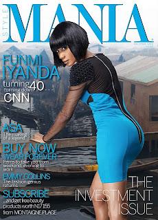 Funmi Iyanda On The Cover Of Mania Magazine, Can U Believe She's 40! 1