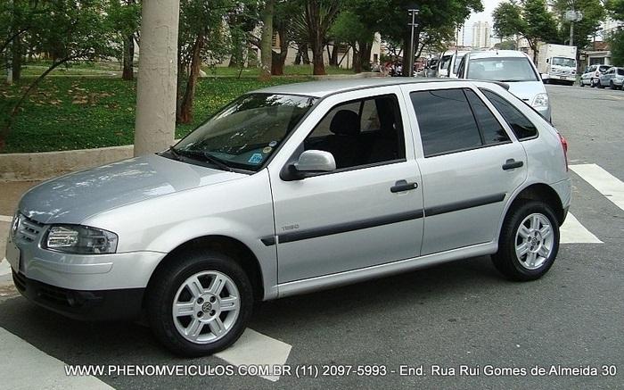 VW Gol Trend 1.0 Flex 2008 4 Portas - prata