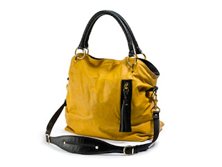 Mustard Tote Handbag from O Magazine. Has pocket and holds laptop and water bottle.