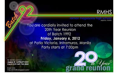 20th Year Grand Reunion