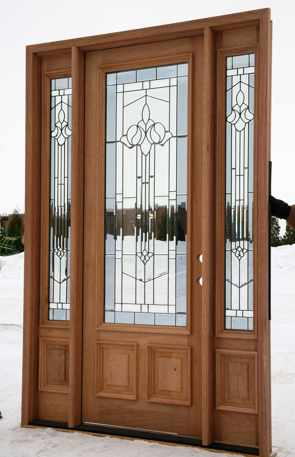 5 front entry doors with sidelights ideas instant knowledge for Front door entrance ideas