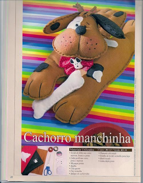 Molde Cachorro Manchinha
