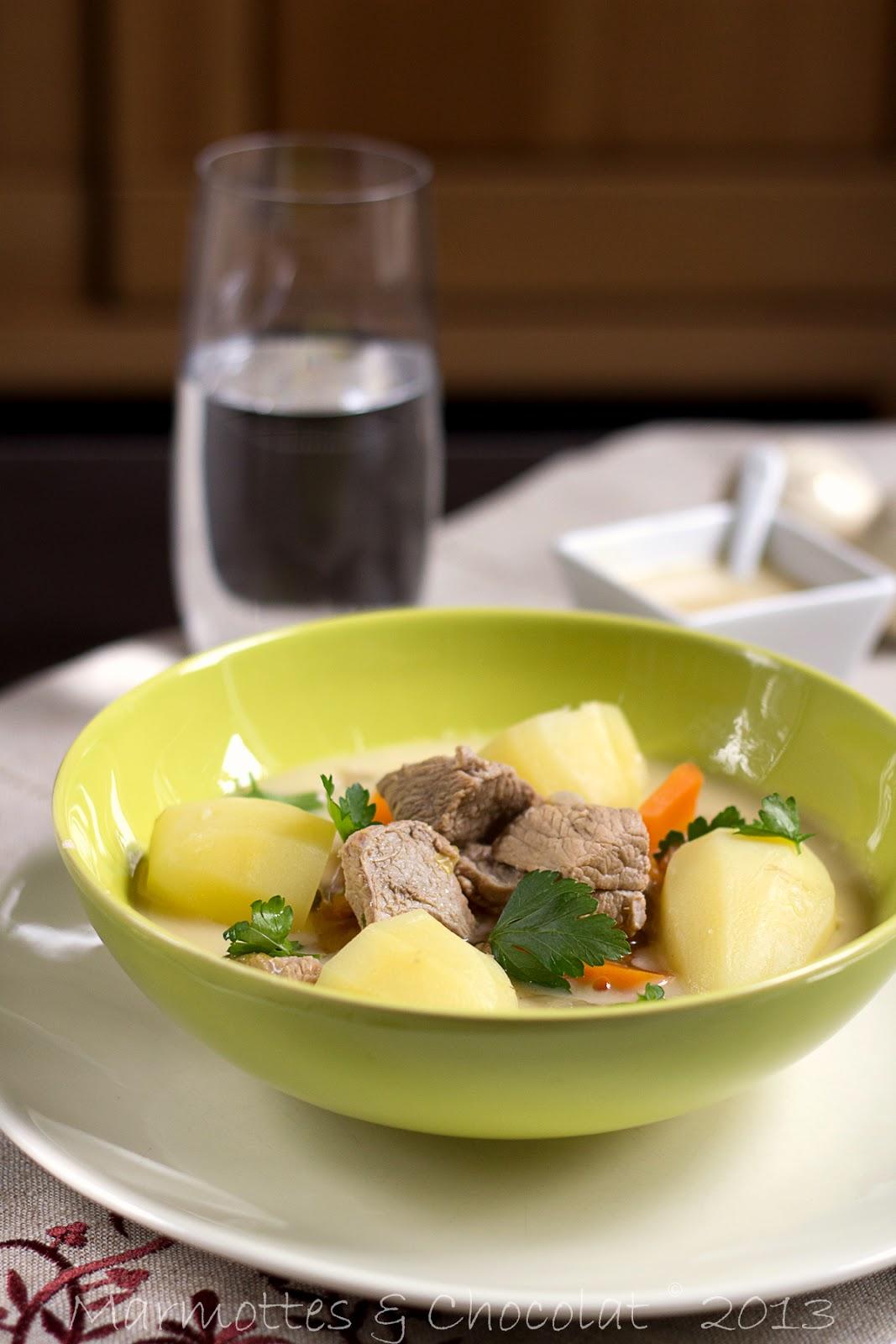 recette de la blanquette de veau