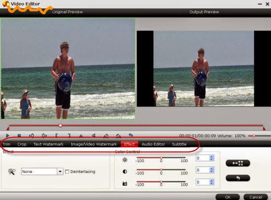 Convert Samsung NX1 H.265/HEVC Videos on VLC  Edit