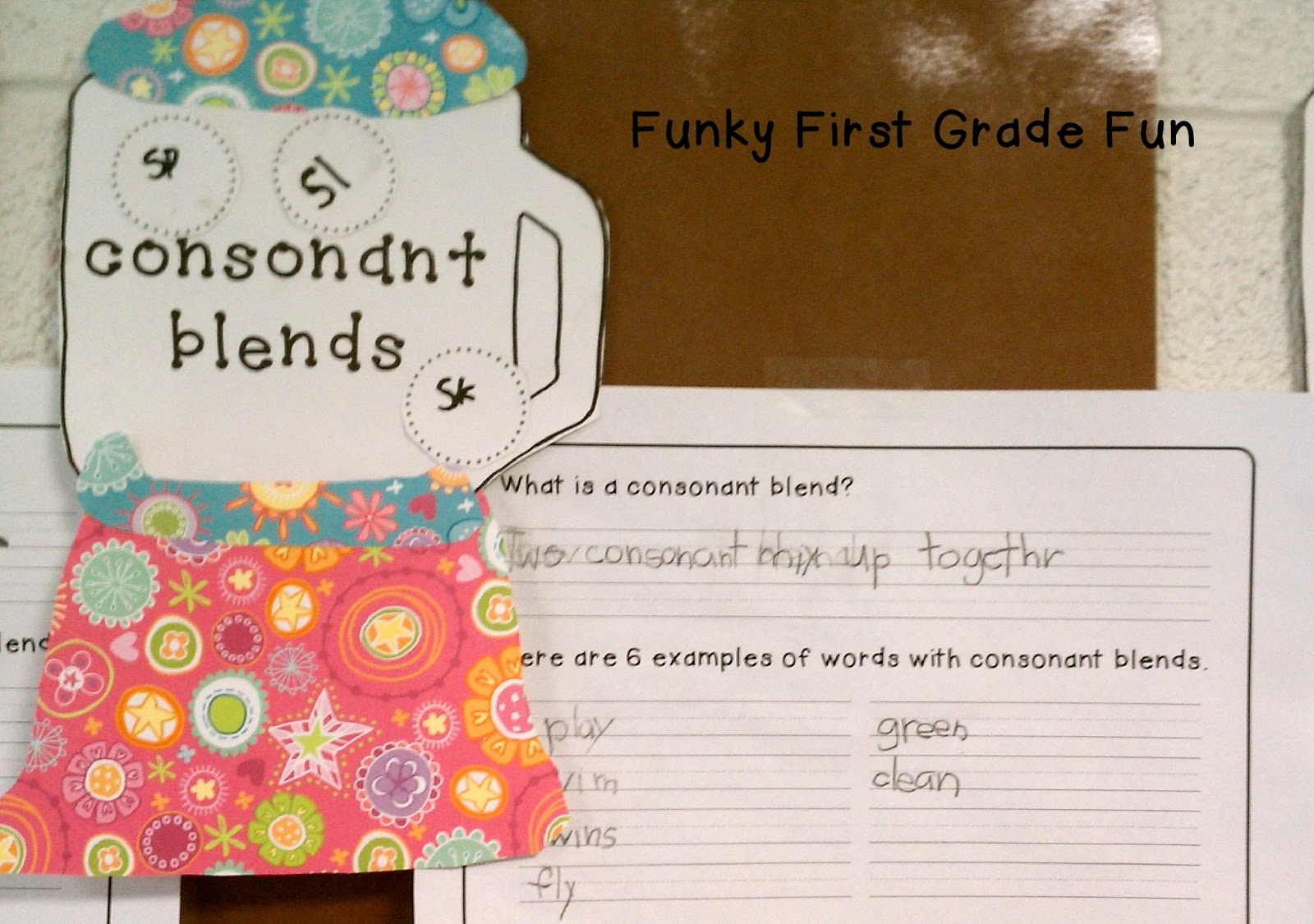 Worksheet Definition Of Consonant Blend funky first grade fun put em in the blender consonant blends blends