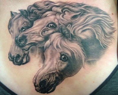 Horse Head Tattoo Design Picture Gallery - Horse Head Tattoo Ideas