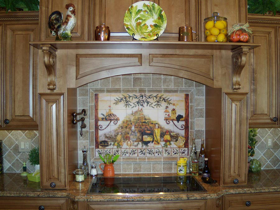 italian kitchen wall decor interior design