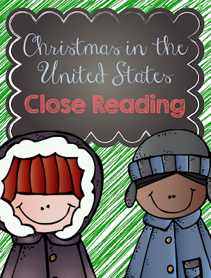 http://www.teacherspayteachers.com/Product/FREE-Christmas-in-the-United-States-Close-Reading-994124