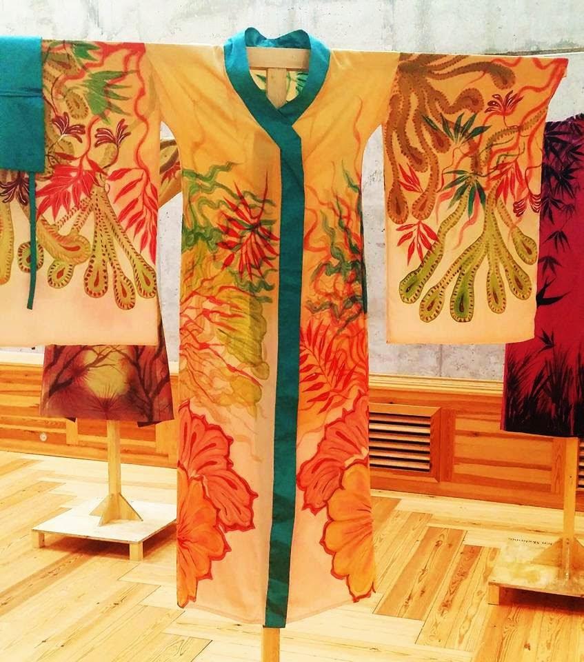Kimono de María Vernal