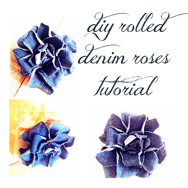 I like big bows denim roses for How are blue roses made