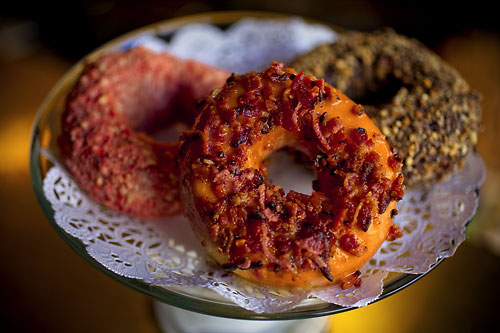 Bacon is god: Bacon Donut