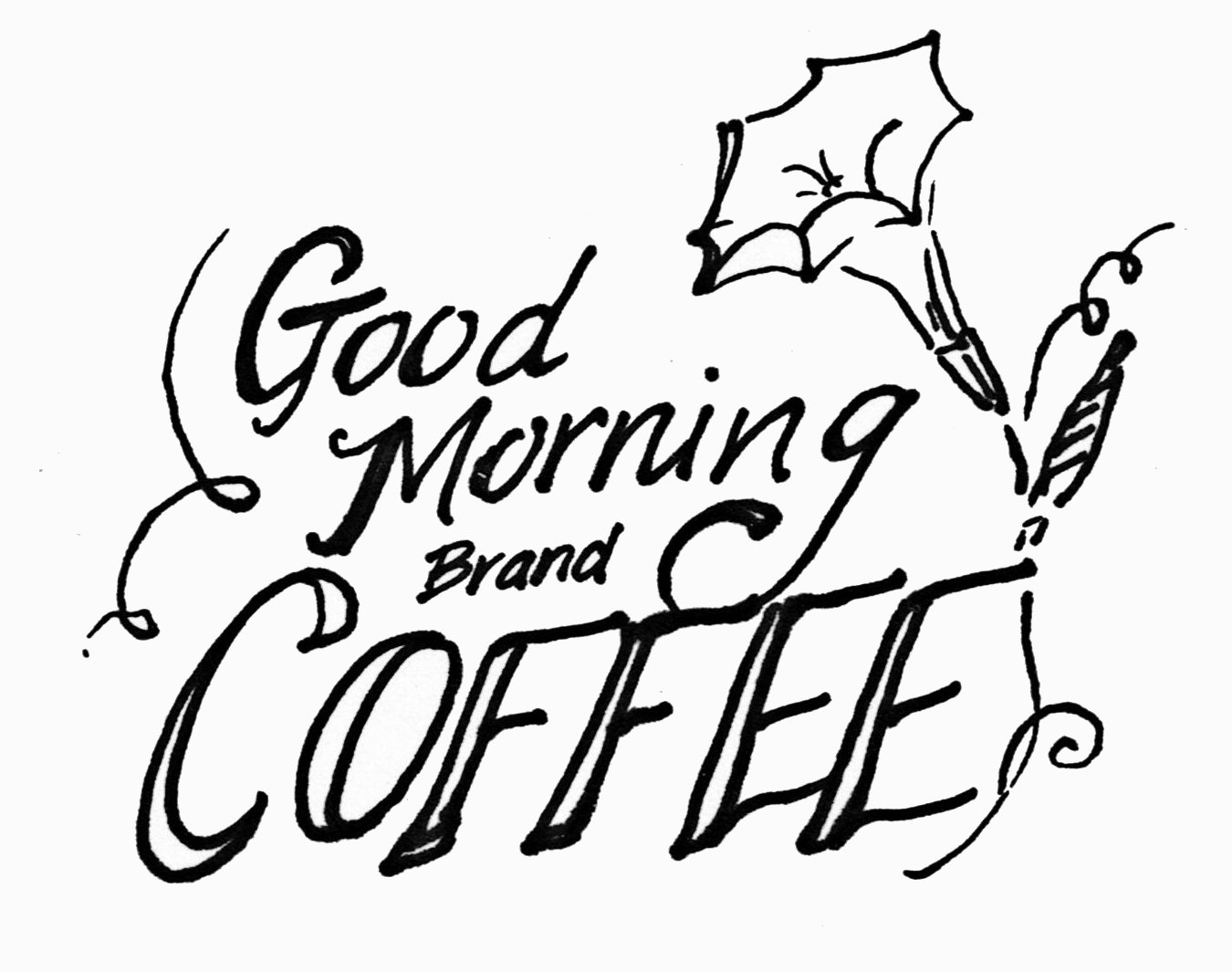 Good morning coffee clipart advertisement inspired clip