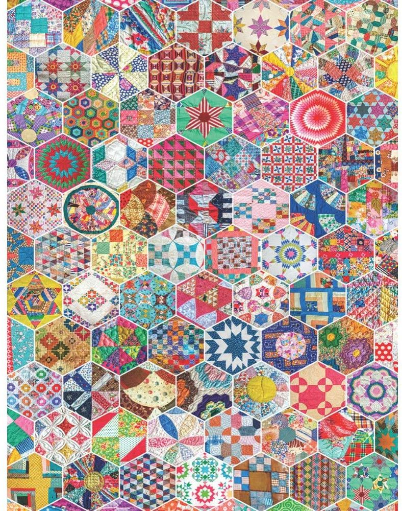 only $13.95! Quilt jigsaw puzzle