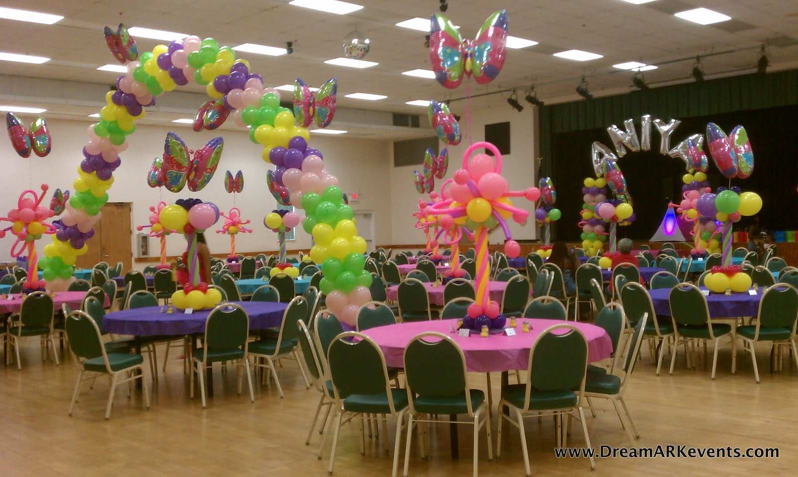 Dreamark events blog july 2012 for Baby shower decoration butterfly