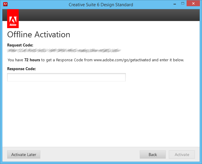 adobe cs6 master collection keygen request code