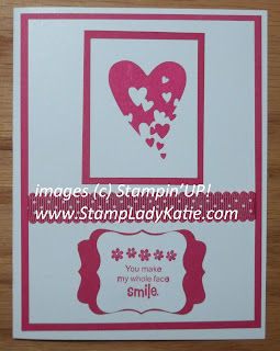 Card made with the Stampin'UP! Sale-a-bration Stamp Set: Sprinkled Expressions. Made by StampLadyKatie