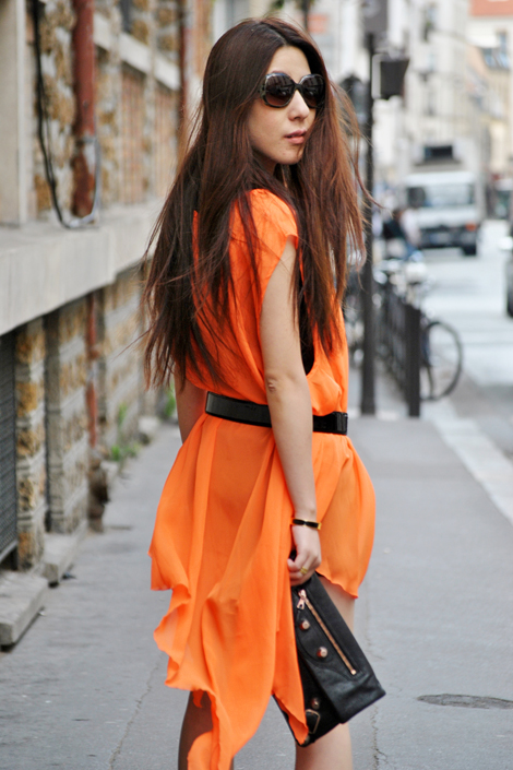 1001 fashion trends Neon Clothing | Neon Clothes | Neon orange fashion style