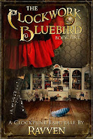 The Clockwork Bluebird Ravven cover