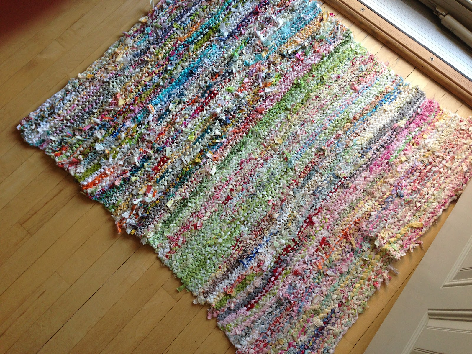 Fabric Rug Making Crazy Mom Quilts Making It Right