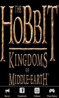 Screenshots of the The Hobbit Kingdoms of Middle Earth for Android tablet, phone.