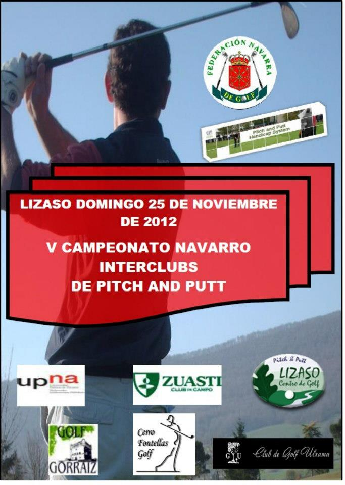 Interclubs Navarro de Pitch & Putt 2012 en Lizaso Golf