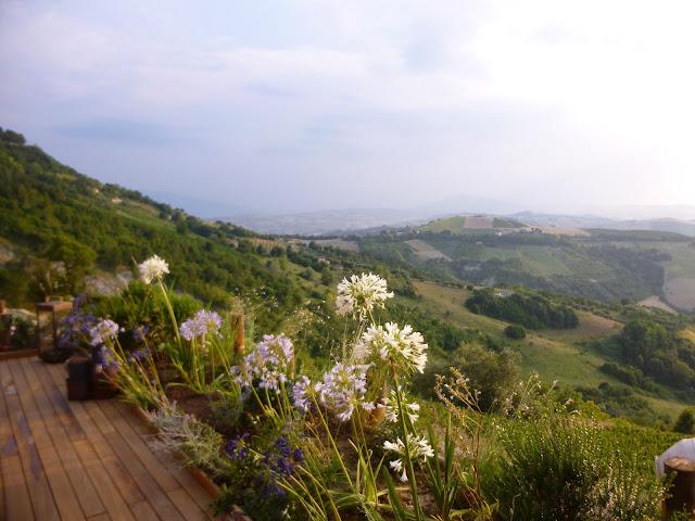 italy mountain view