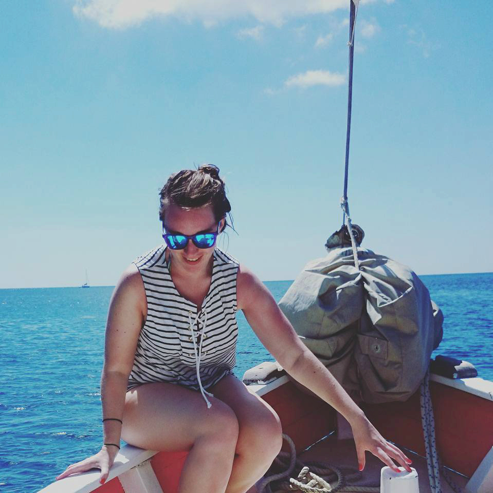 Luxury travel blogger Lux Life sailing around St Vincent and The Grenadines in the Caribbean