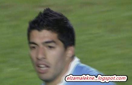 Suarez Urganian striker of Barcelona