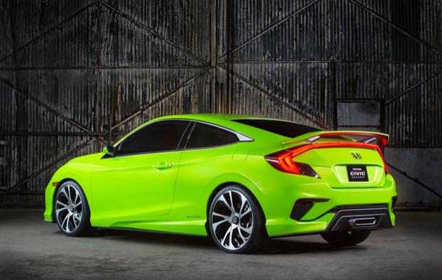 Gambar Kereta Honda Civic Generasi Baru Yang Sporty